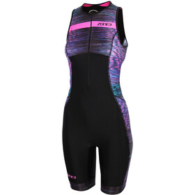 Zone3 Activate Plus Triathlon-puku Naiset, momentum/blue/pink/black